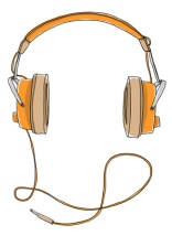 headphones vintage